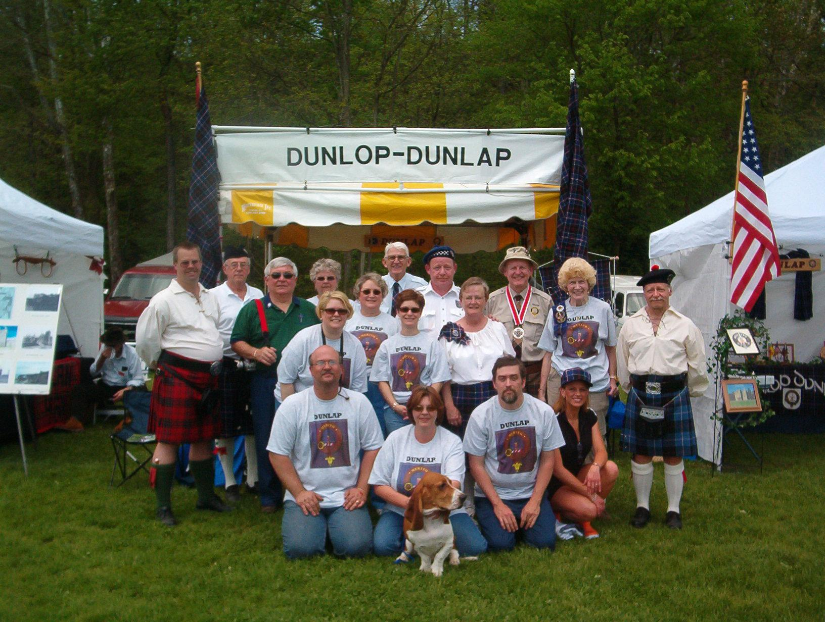 West Virginia Highland Games 2004  photo by russ dean 2nd from right front row