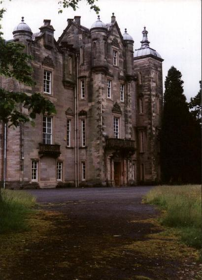 Fourth Dunlop House bulit in 1834 by David Hamilton in Dunlop, Ayrshire
